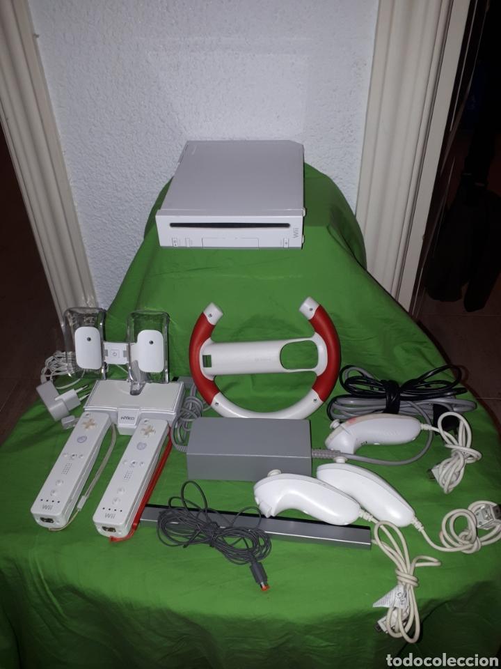 LOTE CONSOLA WII FUNCIONANDO LEER DESCRIPCIÓN (Juguetes - Videojuegos y Consolas - Nintendo - Wii)