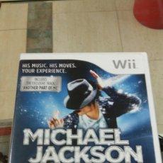 Videojuegos y Consolas: JUEGO WII. MICHAEL JACKSON. Lote 155619452