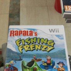 Videojuegos y Consolas: JUEGO WII. FISHING FRENZY. Lote 155621280