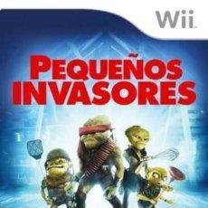 Videojuegos y Consolas: JUEGO NINTENDO WII PEQUEÑOS INVASORES. Lote 155717318