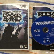 Videojuegos y Consolas: ROCK BAND NINTENDO WII KREATEN ROCKBAND 1 EA AMERICAN VERSION NO COMPATIBLE EN EUROPA. Lote 155994006