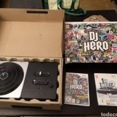 Videojuegos y Consolas: MESA MEZCLAS DE HERO Y JUEGOS PARA WII NINTENDO. Lote 156007633