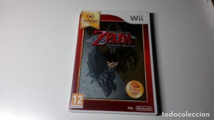 THE LEGEND OF ZELDA.TWILIGHT PRINCESS 2006 NINTENDO WII PAL ESPAÑA NO DS NO GAME CUBE (Juguetes - Videojuegos y Consolas - Nintendo - Wii)