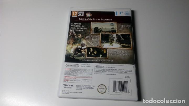 Videojuegos y Consolas: THE LEGEND OF ZELDA.TWILIGHT PRINCESS 2006 NINTENDO WII PAL ESPAÑA NO DS NO GAME CUBE - Foto 4 - 176402575