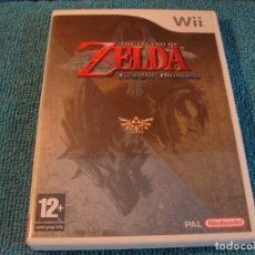 Videojuegos y Consolas: LOTE JUEGO THE LEGEND OF ZELDA TWILIGHT PRINCESS NINTENDO WII...SALIDA 1 EURO. Lote 156519702