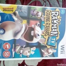 Videojuegos y Consolas: RAYMAM RAVING RABBIDS TV PARTY WII. Lote 156959093