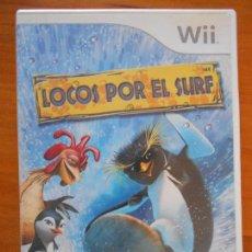 Videojuegos y Consolas: WII - LOCOS POR EL SURF - PAL ESPAÑA - NINTENDO WII (AQ). Lote 156984722
