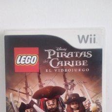 Videojuegos y Consolas: JUEGO PIRATAS DEL CARIBE LEGO PARA WII. Lote 157942146