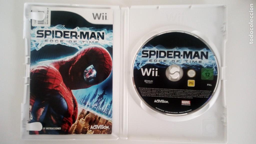 JUEGO SPIDER-MAN EDGE OF TIME PARA WII (Juguetes - Videojuegos y Consolas - Nintendo - Wii)