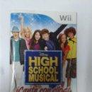 Videojuegos y Consolas: HIGH SCHOOL MUSICAL (SOLO MANUAL DE INSTRUCCIONES). Lote 160476550