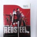 Videojuegos y Consolas: REDSTEEL (SOLO MANUAL DE INSTRUCCIONES). Lote 160477090