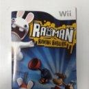 Videojuegos y Consolas: RAYMAN RAVING RABBIDS (SOLO MANUAL DE INSTRUCCIONES). Lote 160493886