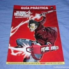 Videojuegos y Consolas: GUIA PRACTICA WII - NO MORE HEROES 2. Lote 213826407