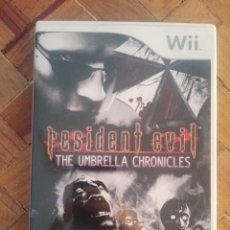 Videojuegos y Consolas: JUEGO WII RESIDENT EVIL - THE UMBRELLA CHRONICLES. Lote 163552870