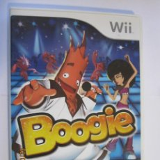 Videojuegos y Consolas: VIDEOJUEGO BOOGIE PARA NINTENDO WII. Lote 166435178