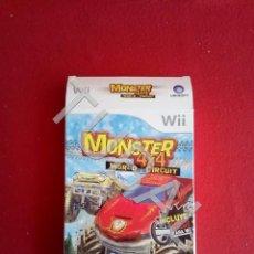 Videojuegos y Consolas: TUBAL NINTENDO WII MONSTER 4X4 SOLO CAJA. Lote 167384200