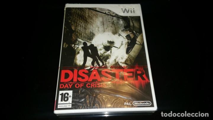 DISASTER DAY OF CRISIS NINTENDO WII PAL ESPAÑA PRECINTADO (Juguetes - Videojuegos y Consolas - Nintendo - Wii)