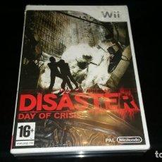 Videojuegos y Consolas: DISASTER DAY OF CRISIS NINTENDO WII PAL ESPAÑA PRECINTADO. Lote 167567172