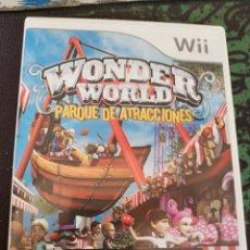 Videojuegos y Consolas: WONDER WORLD, PARQUE DE ATRACCIONES, 35 EMOCIONANTES JUEGOS Y ATRACCIONES (PAL ESPAÑA, DIFÍCIL). Lote 167799778
