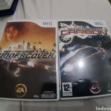 Videojuegos y Consolas: PACK LOTE NEED FOR SPEED NINTENDO WII PAL. Lote 168635273