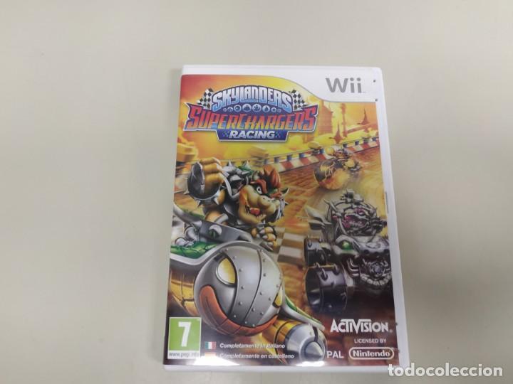 619- SKYLANDERS SUPERCHARGERS RACING VERSION EU NINTENDO WII SIN MANUAL (Juguetes - Videojuegos y Consolas - Nintendo - Wii)