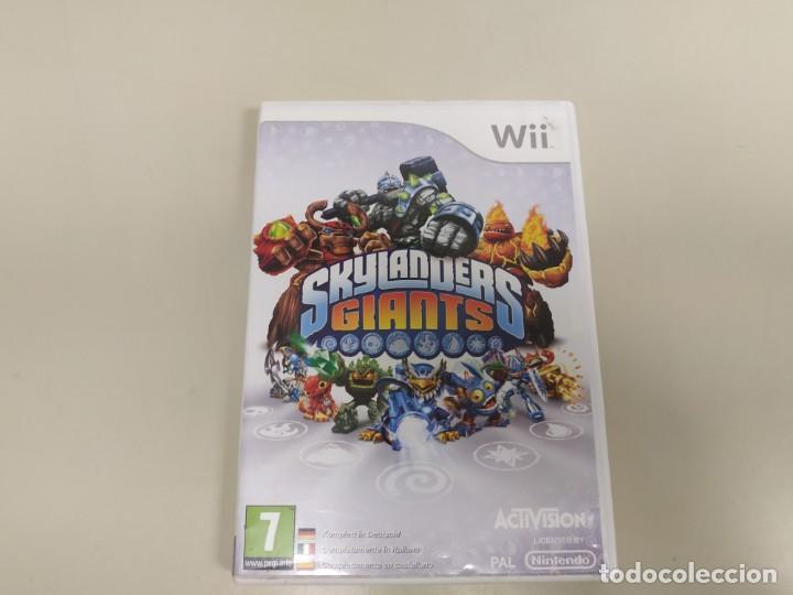 619- SKYLANDERS GIANTS VERSION EU NINTENDO WII SIN MANUAL Nº2 (Juguetes - Videojuegos y Consolas - Nintendo - Wii)