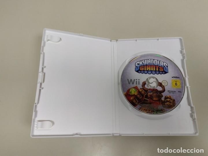 Videojuegos y Consolas: 619- SKYLANDERS GIANTS VERSION EU NINTENDO WII SIN MANUAL Nº2 - Foto 2 - 168680636