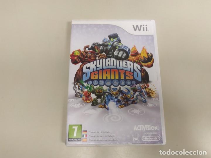 619- SKYLANDERS GIANTS VERSION EU NINTENDO WII CON MANUAL Nº1 (Juguetes - Videojuegos y Consolas - Nintendo - Wii)