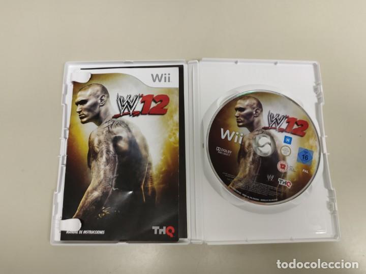 Videojuegos y Consolas: 619- W12 VERSION ESPAÑA NINTENDO WII CON MANUAL - Foto 2 - 168681416