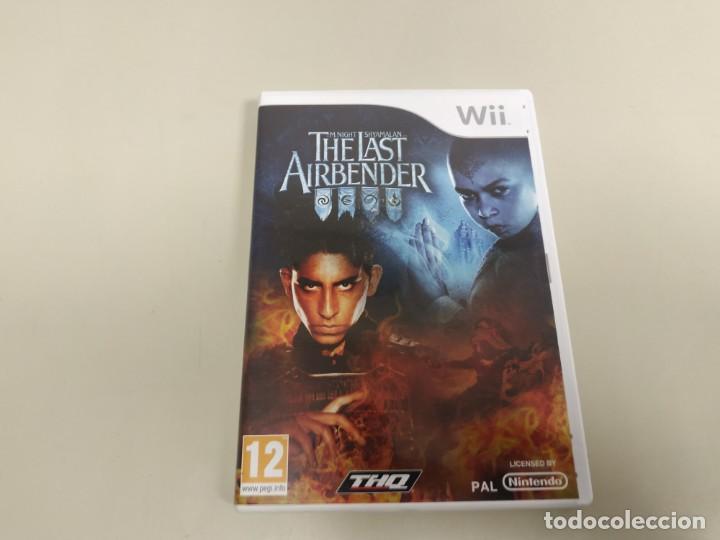 619- THE LAST AIRBENDER VERSION EU/HOLANDA NINTENDO WII CON MANUAL (Juguetes - Videojuegos y Consolas - Nintendo - Wii)