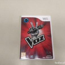 Videojuegos y Consolas: 619- LA VOZ SE BUSCA UNA ESTRELLA 2013 VERSION ESPAÑA NINTENDO WII SIN MANUAL. Lote 168689248