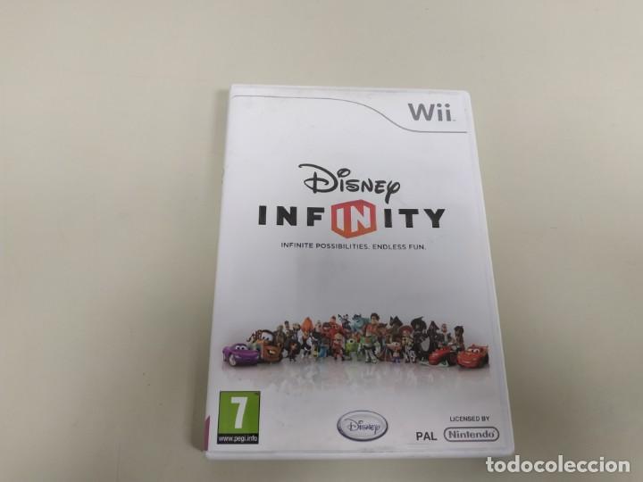 619- DISNEY INFINITY VERSION PAL EU NINTENDO WII CON MANUAL DISCO COMO NUEVO (Juguetes - Videojuegos y Consolas - Nintendo - Wii)