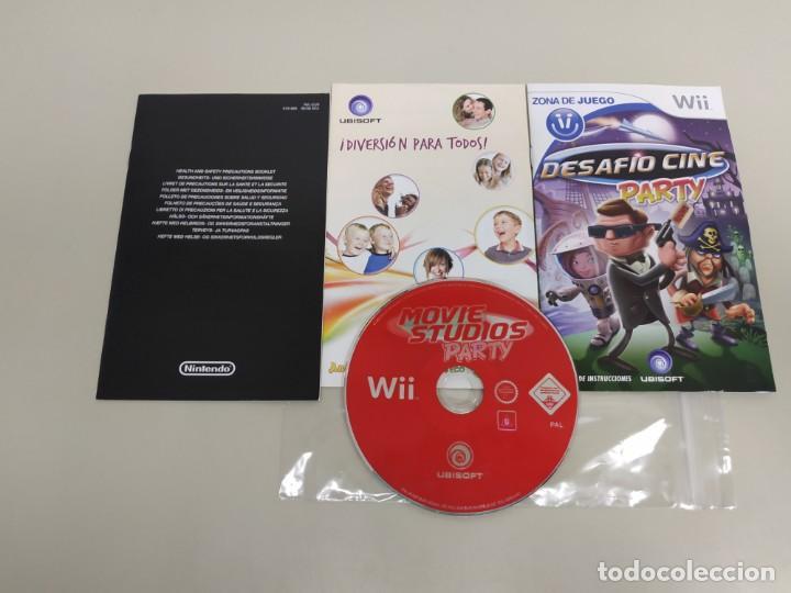 619- MOVIE STUDIOS PARTY NINTENDO WII VERSION PAL (Juguetes - Videojuegos y Consolas - Nintendo - Wii)