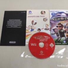 Videojuegos y Consolas: 619- MOVIE STUDIOS PARTY NINTENDO WII VERSION PAL . Lote 169429088