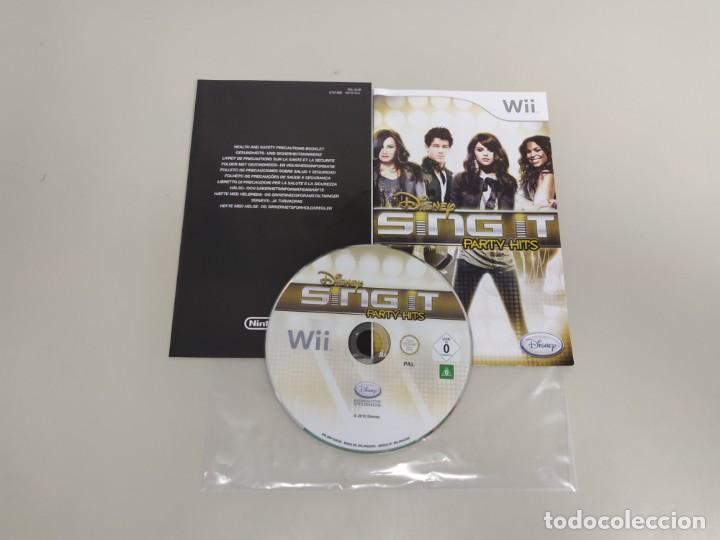 619- DISNEY SING IT PARTY HITS NINTENDO WII VERSION PAL DISCO COMO NUEVO (Juguetes - Videojuegos y Consolas - Nintendo - Wii)