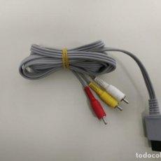 Videojuegos y Consolas: 619- CABLE ORIGINAL AV NINTENDO WII RVL -009 Nº 14. Lote 169432648