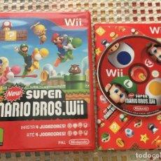 Videojuegos y Consolas: NEW SUPER MARIO BROS WII NINTENDO WII KREATEN. Lote 169432664
