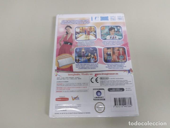 Videojuegos y Consolas: J6- IMAGINA SER PRESENTA EL GRAN CONCURSO DE LA MODA NINTENDO WII VERS ESP NEW - Foto 2 - 169578672