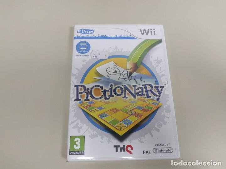 J6- PICTIONARY VERSION ESPAÑA NINTENDO WII NUEVO PRECINTADO (Juguetes - Videojuegos y Consolas - Nintendo - Wii)