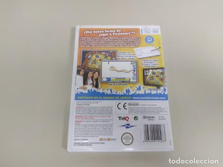 Videojuegos y Consolas: J6- PICTIONARY VERSION ESPAÑA NINTENDO WII NUEVO PRECINTADO - Foto 2 - 169579116