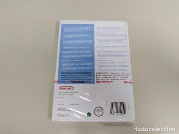 Videojuegos y Consolas: J6-WII POINTS CARD 2000 VERSION ESPAÑA NINTENDO WII NUEVO PRECINTADO - Foto 2 - 169579636