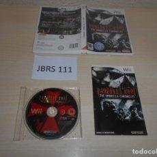 Videojuegos y Consolas: WII - RESIDENT EVIL - THE UMBRELLA CHRONICLES , PAL ESPAÑOL , COMPLETO. Lote 170285548
