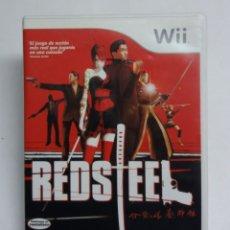 Videojuegos y Consolas: JUEGO WII REDSTEEL. Lote 171002958