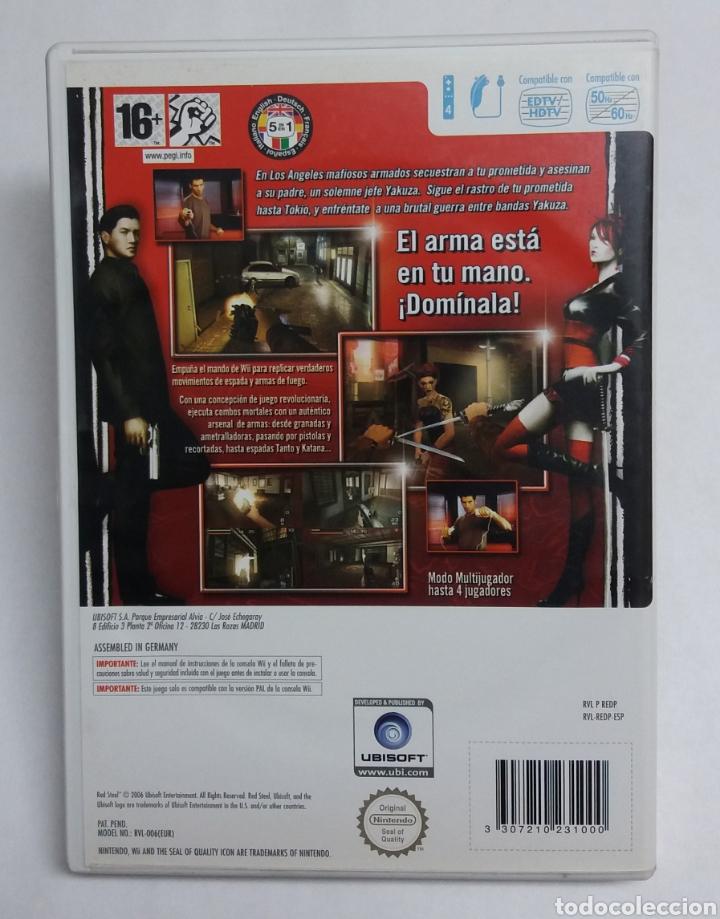 Videojuegos y Consolas: JUEGO Wii REDSTEEL - Foto 3 - 171002958