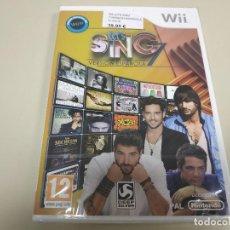 Videojuegos y Consolas: JJ-LET´S SING 7 WII VERSION ESPAÑA PRECINTADO PROCEDE STOCK . Lote 171114655