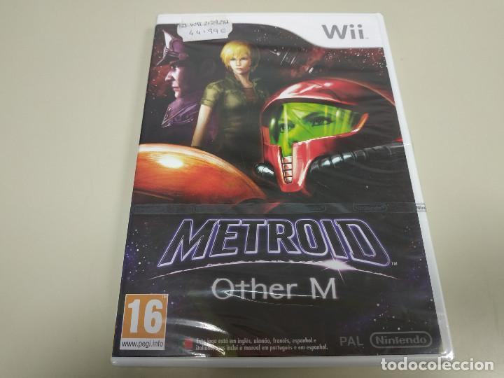 JJ-METROID OTHER M WII VERSION ESPAÑA PRECINTADO PROCEDE STOCK (Juguetes - Videojuegos y Consolas - Nintendo - Wii)