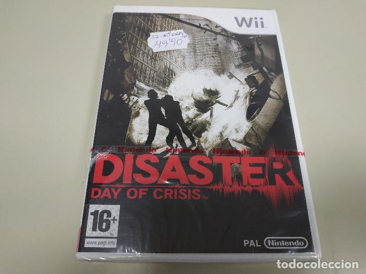 JJ-DISASTER DAY OF CRISIS WII VERSION ESPAÑA PRECINTADO PROCEDE STOCK (Juguetes - Videojuegos y Consolas - Nintendo - Wii)