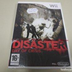 Videojuegos y Consolas: JJ-DISASTER DAY OF CRISIS WII VERSION ESPAÑA PRECINTADO PROCEDE STOCK . Lote 171114843