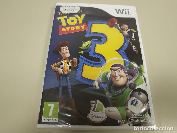 JJ-TOY STORY 3 WII VERSION ESPAÑA PRECINTADO PROCEDE STOCK (Juguetes - Videojuegos y Consolas - Nintendo - Wii)