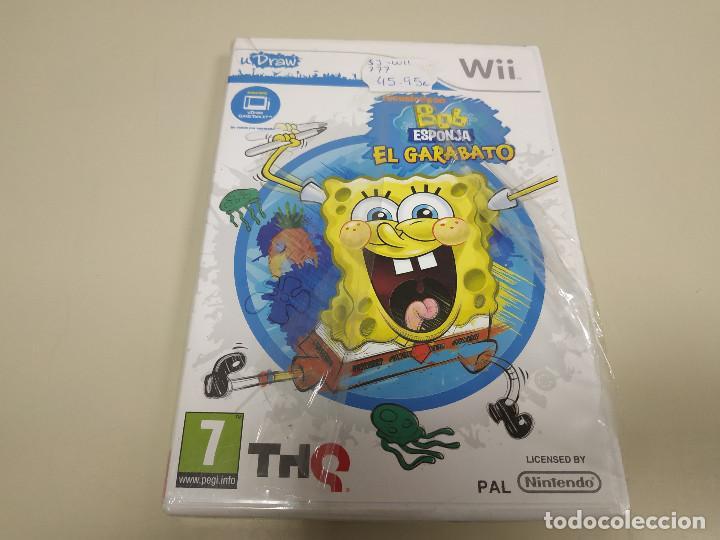 JJ-BOB ESPONJA EL GARABATO WII VERSION ESPAÑA NUEVO PROCEDE STOCK (Juguetes - Videojuegos y Consolas - Nintendo - Wii)